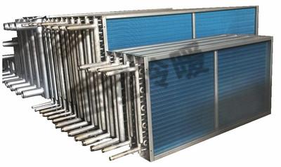 不锈钢管串铝片表冷器