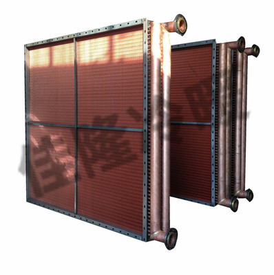 铜管串铜片表冷器