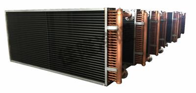 銅管串不鏽鋼片表冷器